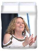 Musician Amy Helm Duvet Cover