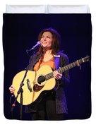 Musician Rosanne Cash Duvet Cover