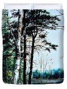 Muskoka Morning Duvet Cover