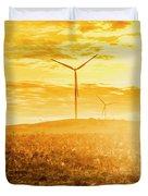Musselroe Wind Farm Duvet Cover