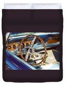 Mustang Convertible Duvet Cover