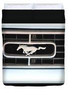 Mustang Logo Duvet Cover