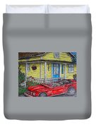 Mustang Sallys' Place Duvet Cover