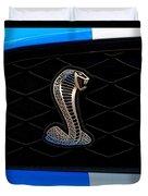 Mustang Shelby Logo Duvet Cover