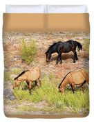 Mustangs Duvet Cover