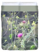 Mustard And Thistle Duvet Cover