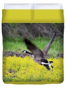 Mustard Flight Duvet Cover
