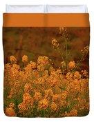 Mustard Garden Duvet Cover