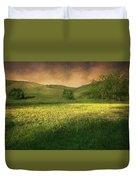 Mustard Grass Duvet Cover
