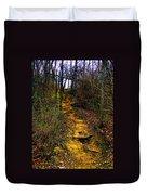 Mustard Hill Duvet Cover