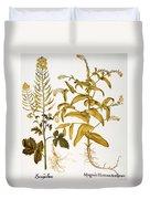Mustard Plant, 1613 Duvet Cover