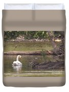 Mute Swan         St. Joe River          June         Indiana Duvet Cover