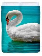 Mute Swan 4 Duvet Cover