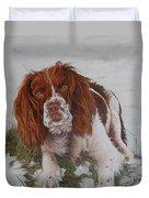 Muttley-the Best Springer Spaniel Duvet Cover