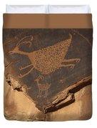 Mv Petroglyph 7364 Duvet Cover