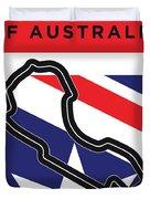 My 2017 Grand Prix Of Australia Minimal Poster Duvet Cover