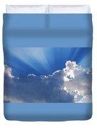 My Blue Heaven Duvet Cover