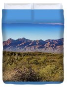 My Catalina Mountains Duvet Cover