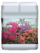 My Colorful Bouganville Duvet Cover
