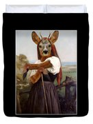 My Deer Shepherdess Duvet Cover