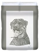 My Dog Kito Duvet Cover
