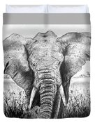 My Friend The Elephant II Duvet Cover