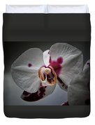 My Growling Dragon Orchid. Duvet Cover