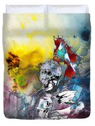 My Knight In Shining Armour Duvet Cover