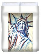 My Lady Liberty  Duvet Cover