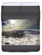 My Mountain Kitchen Duvet Cover