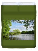 My Place By The River Duvet Cover