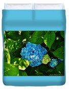 My Pride And Joy Hydrangea Duvet Cover