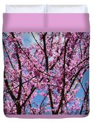 My Redbuds In Bloom Duvet Cover