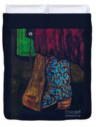 My Ride Home After The Dance Duvet Cover by Frances Marino
