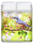My Summer Bird Duvet Cover