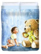 My Teddy And Me 03 Duvet Cover