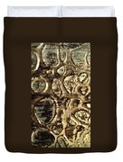 My Textured Stones F Duvet Cover by Sonya Wilson