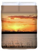 Myakka Sunset Duvet Cover