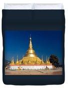 Myanmar Temple Duvet Cover