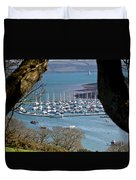 Mylor Marina Duvet Cover