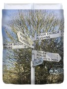 Mylor Signpost Duvet Cover