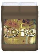 Myopia At The Museum Duvet Cover