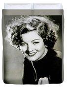 Myrna Loy Duvet Cover
