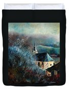 Mysterious Chapel Duvet Cover