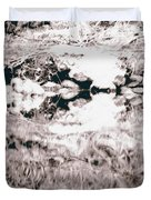 Mysterious Waterline Duvet Cover