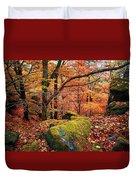Mystery Of Autumn Duvet Cover