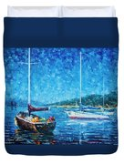 Mystery Of The Night 3  Duvet Cover