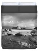 Mystery Valley Overlook Ir 0550 Duvet Cover