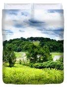 Mystic Hillside Duvet Cover