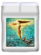 Mystic Mermaid Iv Duvet Cover